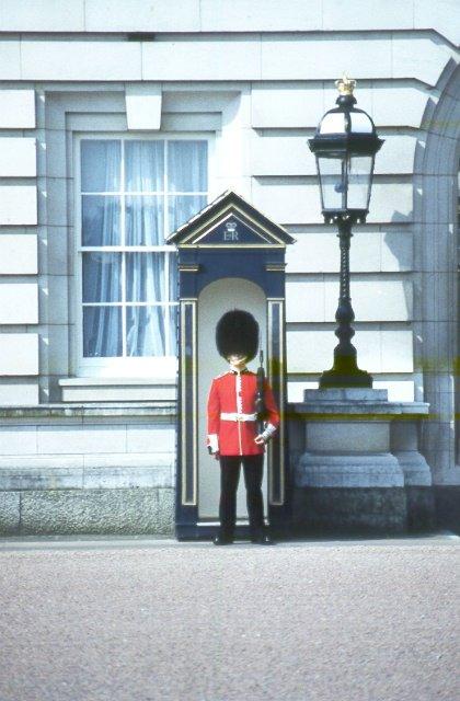 wachen vom buckingham palace
